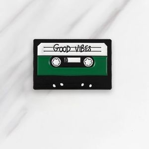 4/$20 Good Vibes Retro Pin